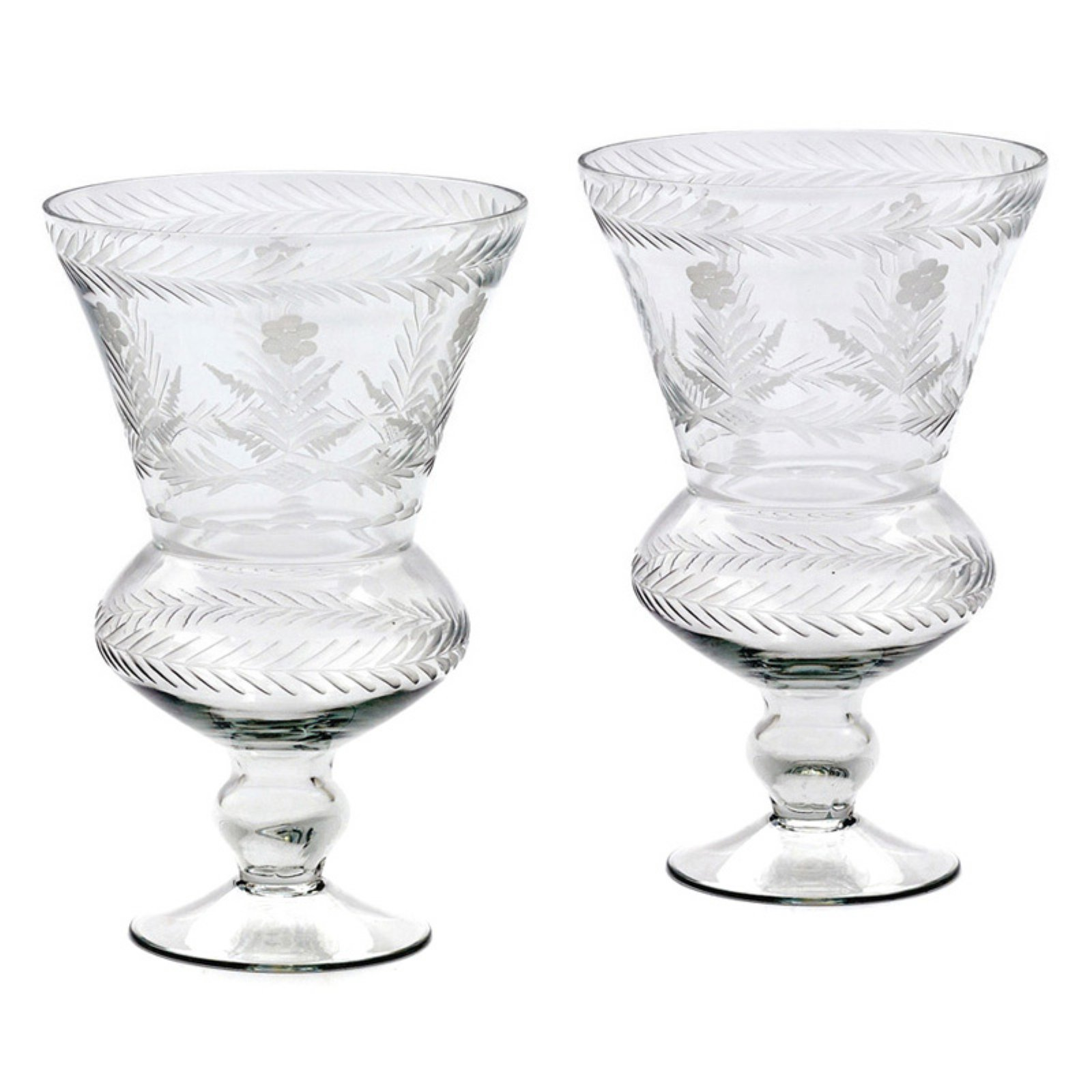 Hip Vintage Amsterdam Hurricane Candle Holder - Set of 2