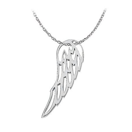 Lovebrightjewelry Gorgeous Angel Wing Pendant In 925 Sterling Silver Fab Jewelry Gift At Economical Price Range