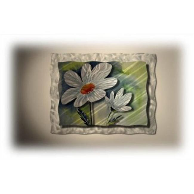 All My Walls FLOR00032 Daisies Metal Wall Sculpture