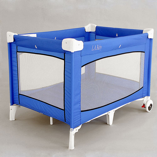 L.A. Baby Commercial Grade Playard with Wheels