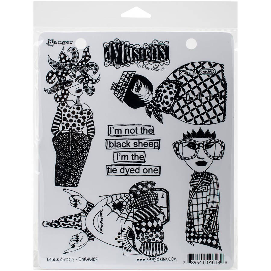 "Dyan Reaveley's Dylusions Cling Stamp Collections, 8.5"" x 7"""