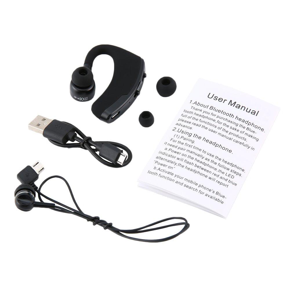 V9 Business Csr Headset Wireless Stereo Hands Free Headphone Walmart Canada