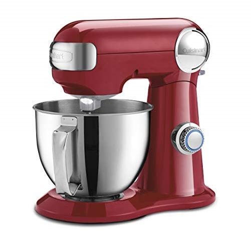 Cuisinart Precision Master 3.5Qt Stand Mixer, Ruby Red