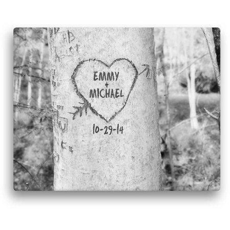 14 Personalized Kids Art (Personalized Carved Tree 11