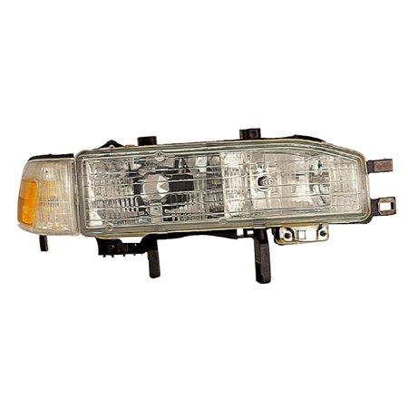 1990-1991 Honda Accord Passenger Right Side Combination Headlight Lamp Assembly