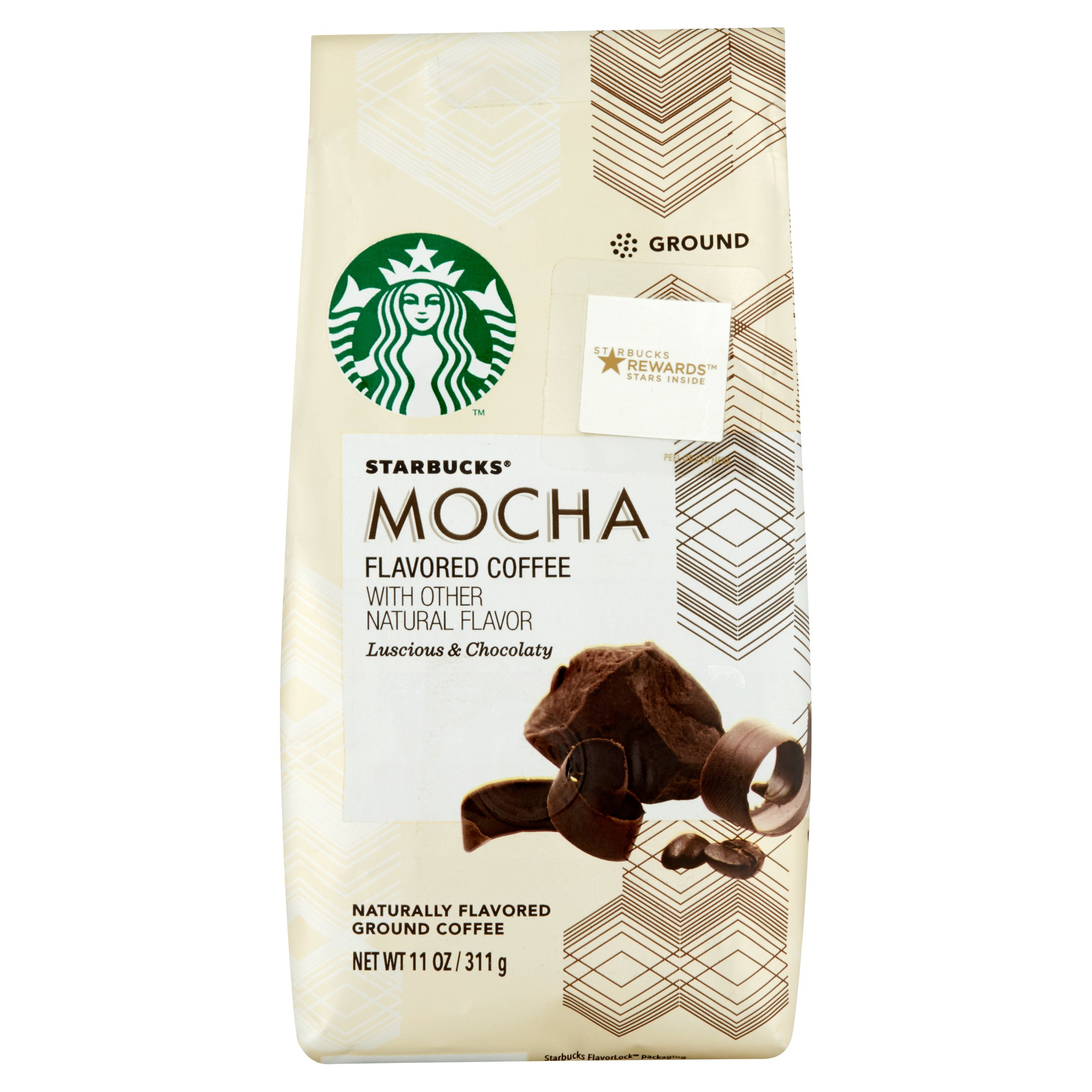 Starbucks Mocha Ground Naturally Flavored Coffee 11oz
