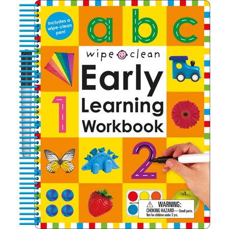 Learn 1 Trio Book - Wipe Clean: Early Learning Workbook