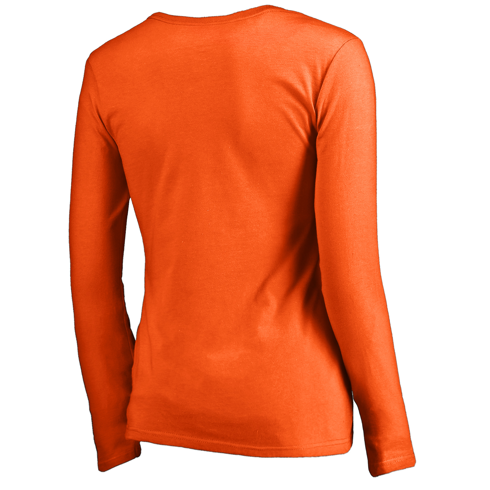 654d05b6ba9 Baltimore Orioles Fanatics Branded Women s Cooperstown Collection Slider  Long Sleeve V-Neck T-Shirt - Orange - Walmart.com