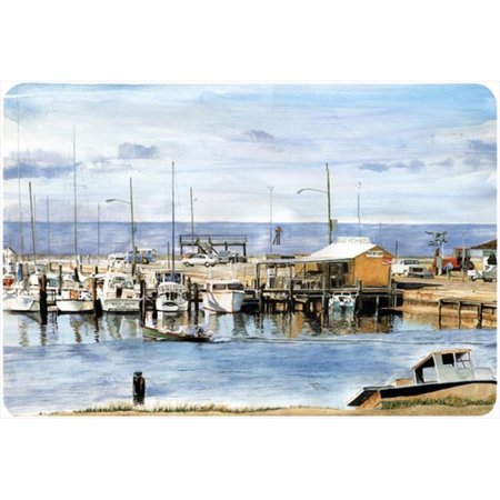 Carolines Treasures 8129MP 9.25 x 7.75 in. The Pass Bait Shop Mouse Pad, Hot Pad Or Trivet - image 1 de 1
