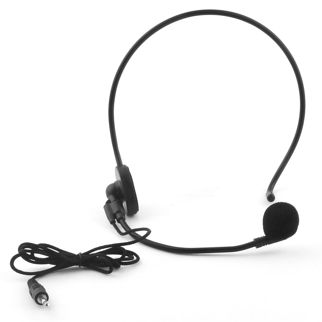 3.5mm Plug Head-mounted Headworn Headset Condenser Microphone Mic Wired Boom by