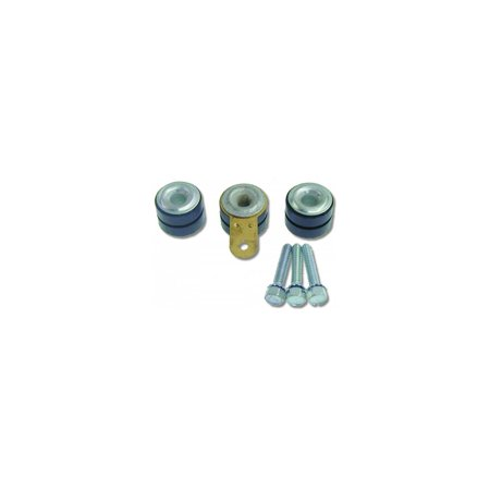 Eckler's Premier  Products 33180022 Camaro Windshield Wiper Motor Mounting Grommets With Inserts Ground Strap & Screws 92 (Grommet Wiper)