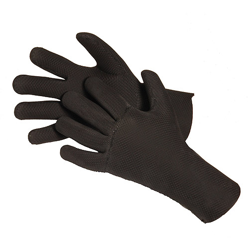 Glacier Glove Fleece-Lined Gloves, Black by DR. SHADE
