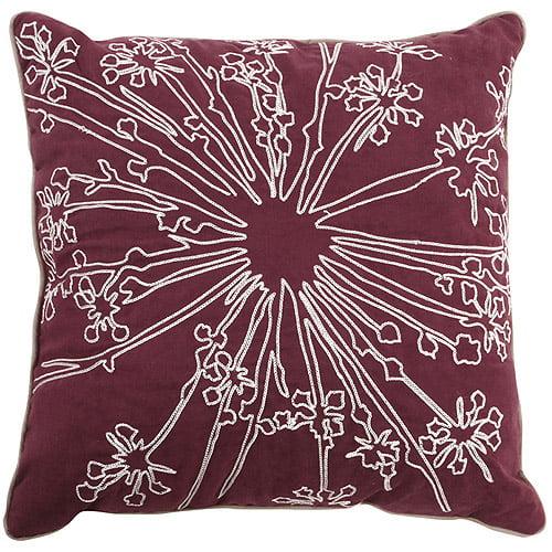Hometrends Shona Collection Square Decorative Pillow