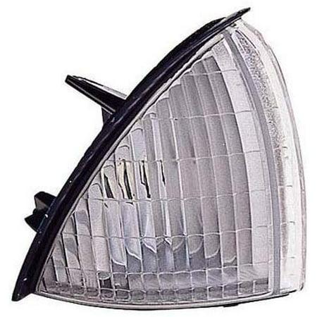 For Oldsmobile Achieva 1992-1998 Side Marker Light Assembly Unit Driver Side GM2550154 Oldsmobile Achieva Driver