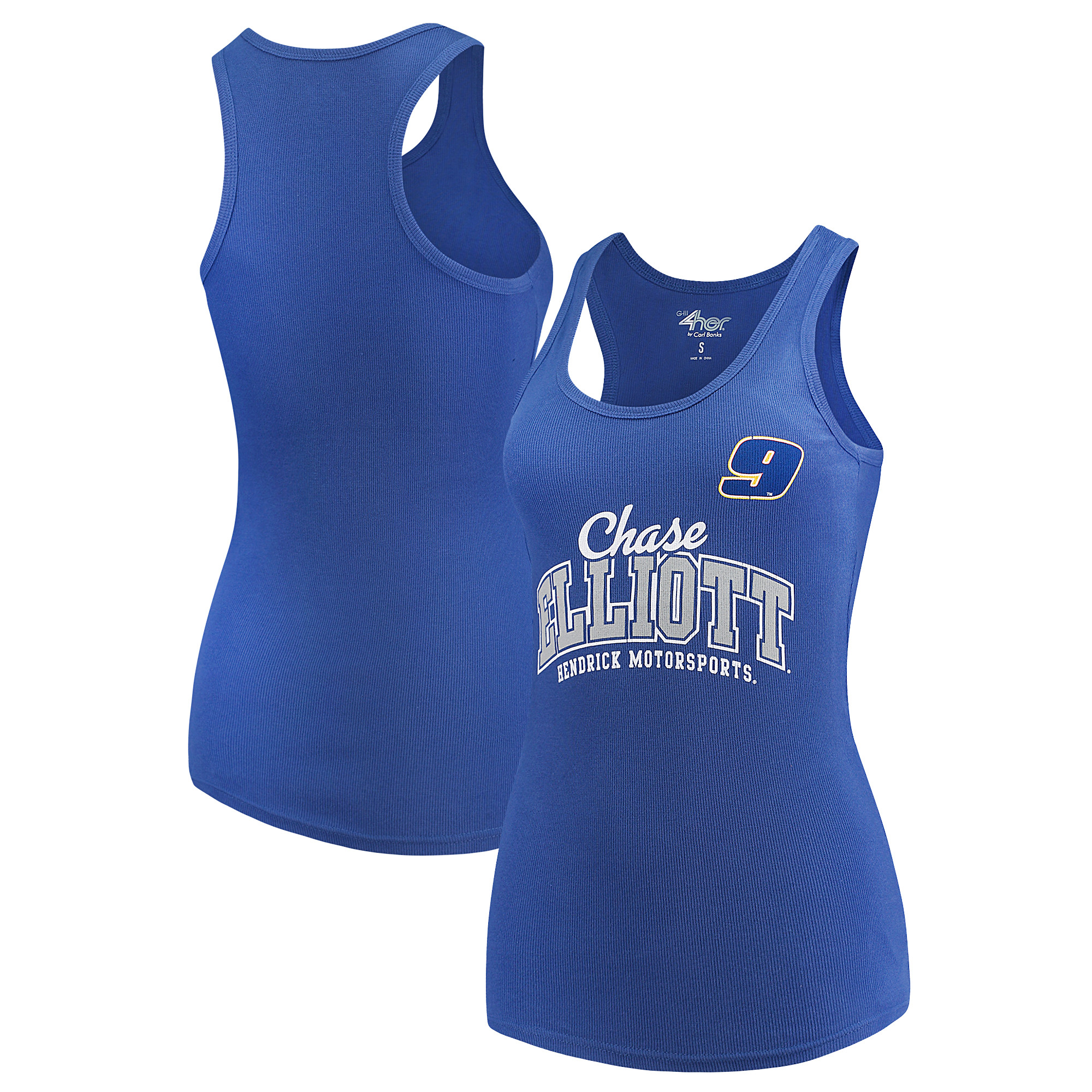 Chase Elliott G-III 4Her by Carl Banks Women's Pre-Season Tank Top - Royal