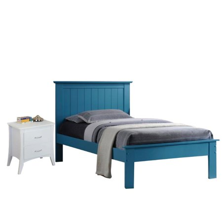 Prentiss 2 Piece Bedroom Set with 2 Drawer Nightstand and Queen Bed ...