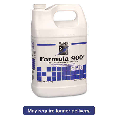 Franklin Cleaning Technology Formula 900 Liquid Soap Scum Remover, 1 gal, 4 count