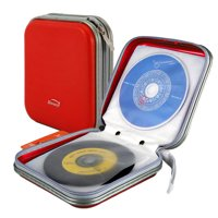 TSV 40 Disc CD DVD Storage Holder Carry Case Organizer Holder Wallet Cover Box Album