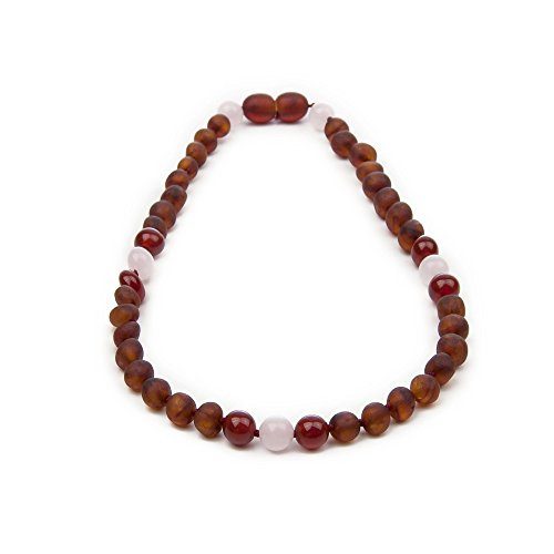 The Art of Cure Baltic Amber Teething Necklace - Multicolored 12-12.5 Inches