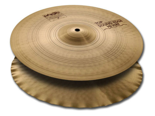 Paiste 1063213 13 Inch 2002 Sound Edge Top Hi-Hat Cymbal With Lively Intensity by