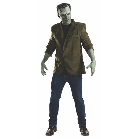 Universal Monsters Mens Frankenstein Halloween Costume](Cheap Mens Scary Halloween Costumes)