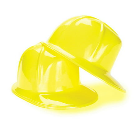 US Toy 25/1615 Construction Party Hard Hat (child sized) - Yellow