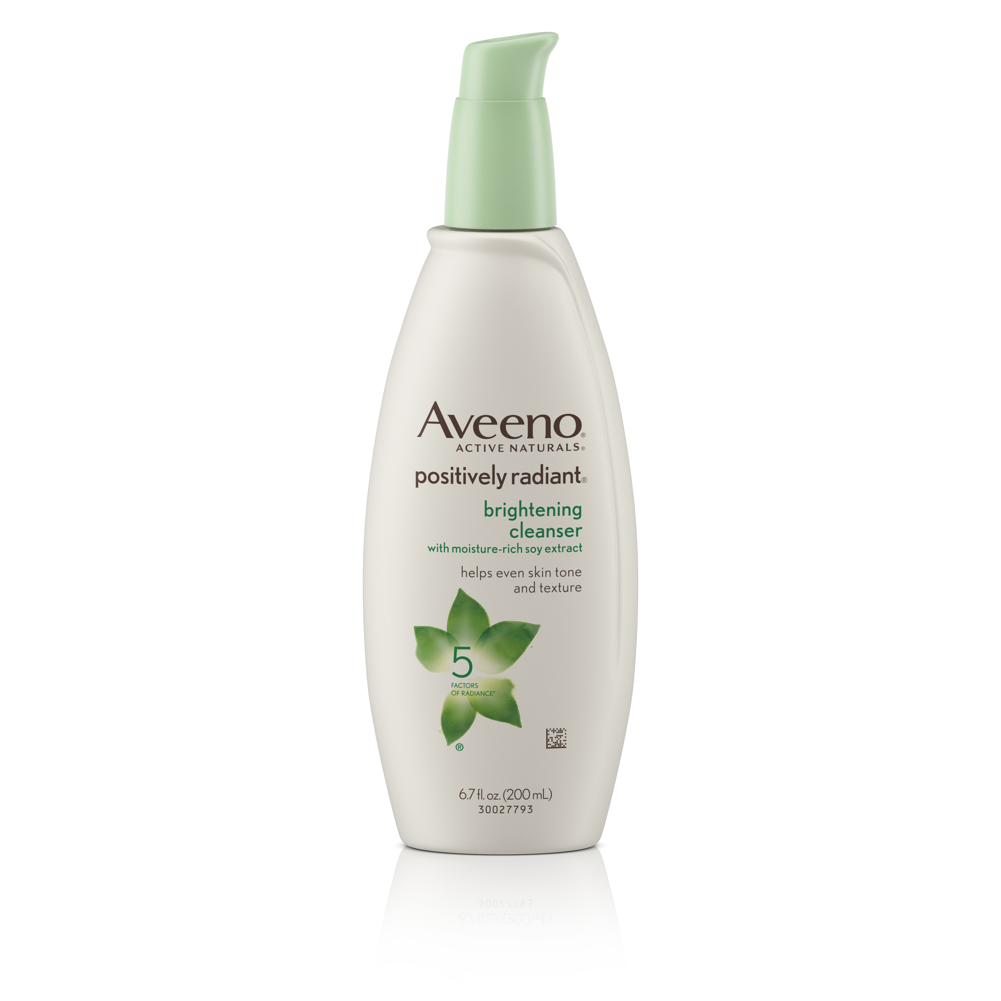 Aveeno Positively Radiant Brightening Cleanser For Face, 6.7 Fl. Oz - Walmart.com