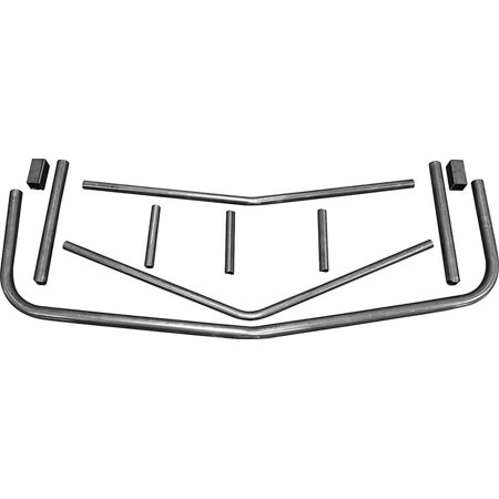 Allstar Performance Unwelded Front Bumper Chevy Monte Carlo 1983-88 P/N 22369