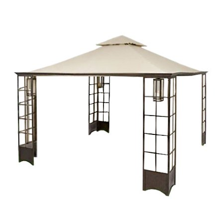 Garden Winds  Replacement Canopy Top for Home Depot's Trellis Gazebo (Trellis Gazebo Replacement Canopy)