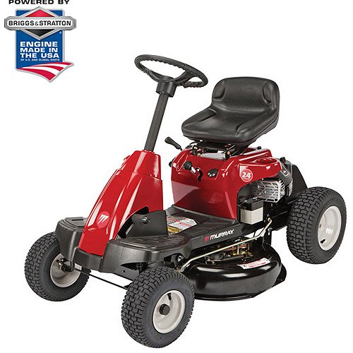 Murray 24 190cc Briggs And Stratton Rear Engine Riding Mower With Shift On The Go Drive System