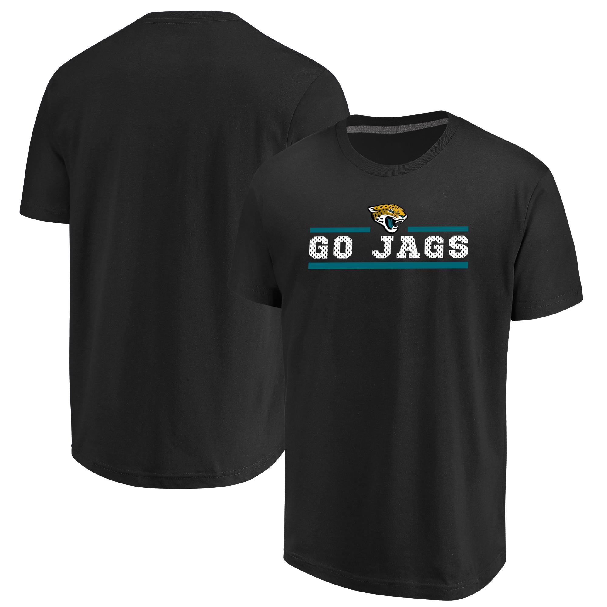 Jacksonville Jaguars Majestic Safety Blitz T-Shirt - Black