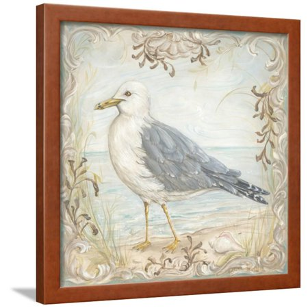 Shore Birds IV Framed Print Wall Art By Kate McRostie ()