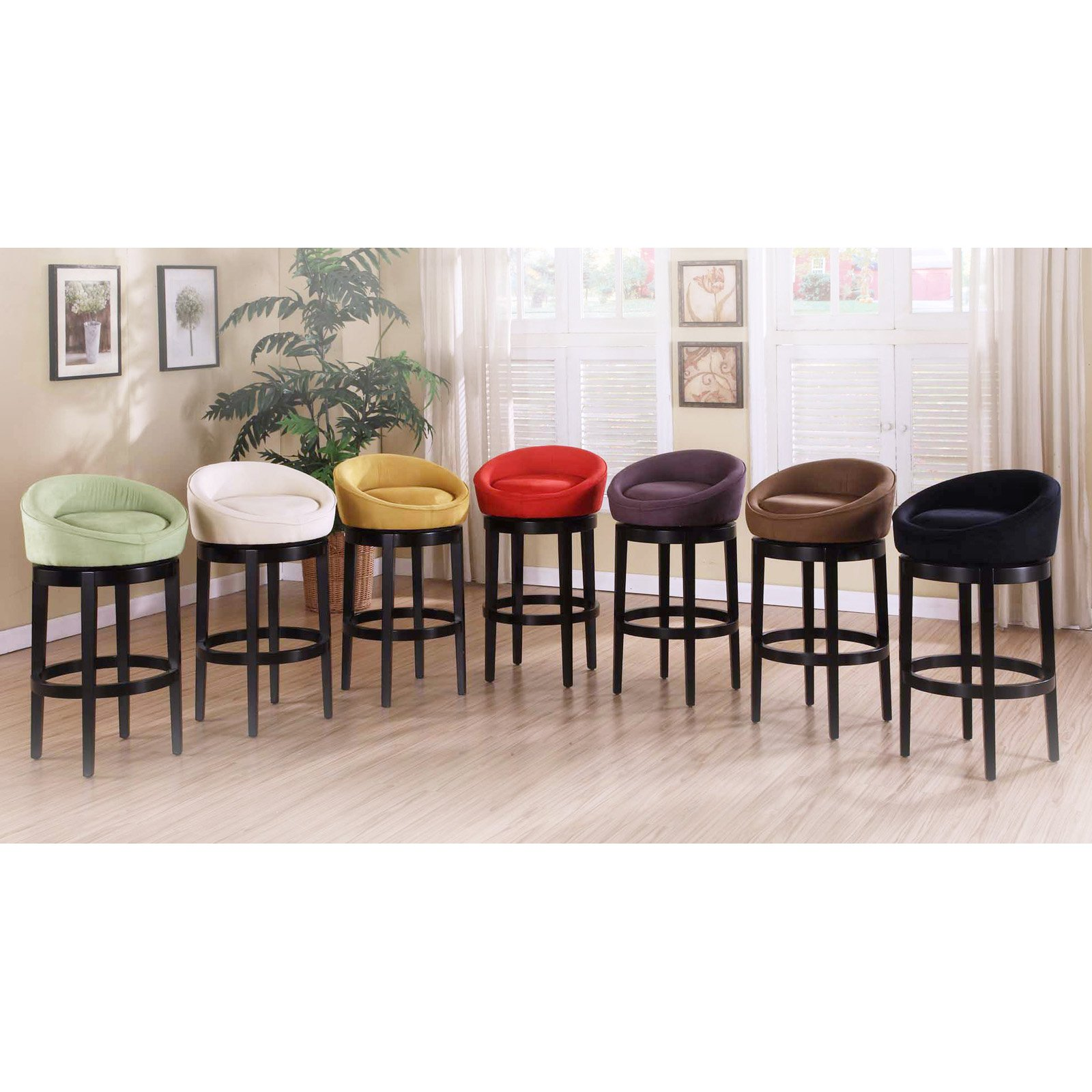 Armen Living Igloo 26 In Low Back Counter Stool Walmartcom