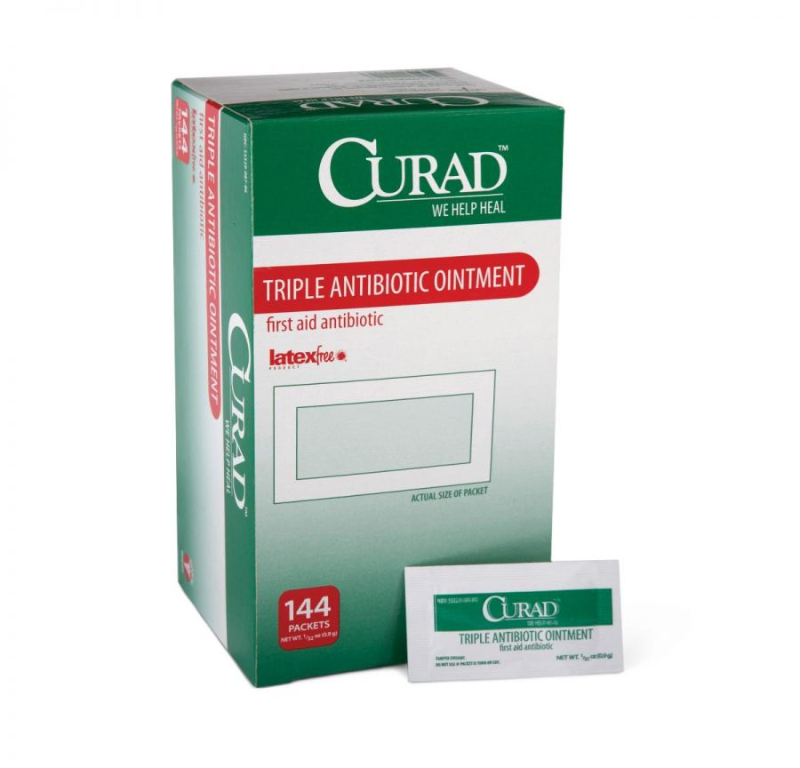 CURAD Triple Antibiotic Ointment ''1 Packet''