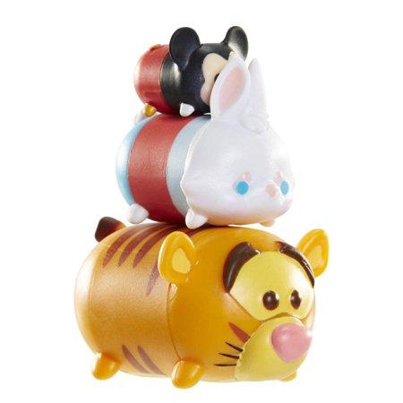 Disney Tsum Tsum 3 Pack: Mickey, White Rabbit, (Tigger Life)