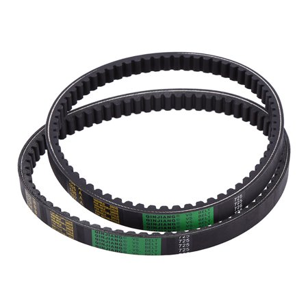 TMISHION 2 pack Top Drive Belt Clutch Belt For Hammerhead 80T and TrailMaster Mid XRX Go-Karts
