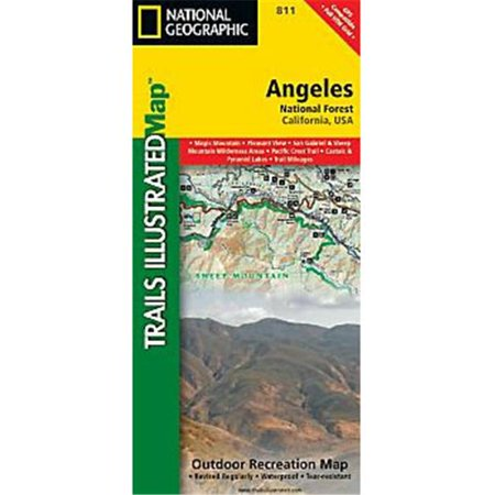 Maps  Angeles National Forest Map - image 1 de 1