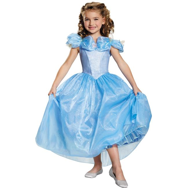 Morris Costumes DG87073L Cinderella Movie Child Prestige Costume, Large
