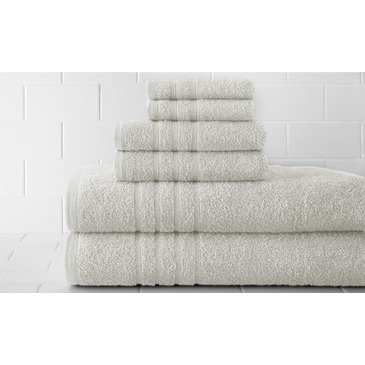 Pacific Coast Textiles Spa Collection Luxurious Egyptian Cotton 6PC Towel Set by Supplier Generic