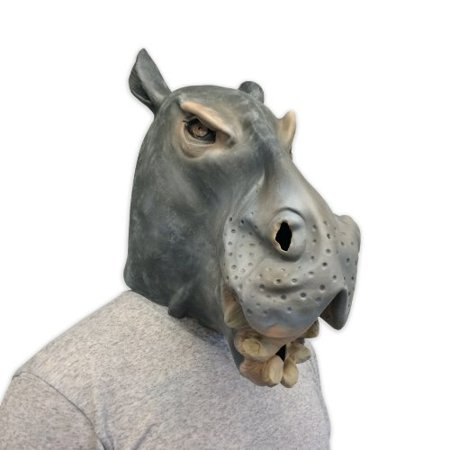 Hippo Mask - Cool Masks - Off the Wall - Hippo Mask