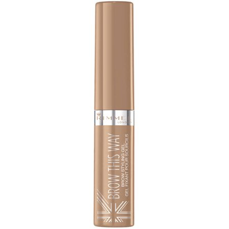 (2 Pack) Rimmel London Brow This Way Brow Styling Gel, Blonde