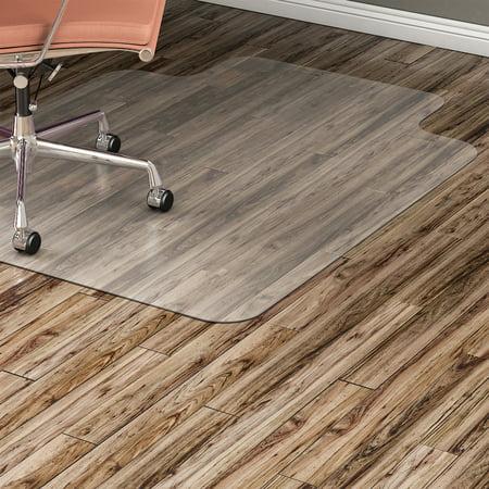 Lorell, LLR82826, Nonstudded Hard Floor Wide Lip Chairmat, 1 / Each, (Lorell Chair Mat)