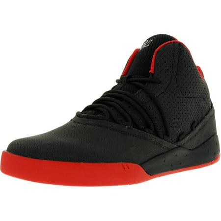 Supra Men's Estaban Black/Black/White Ankle-High Leather Fashion Sneaker - 9.5M - image 1 of 1