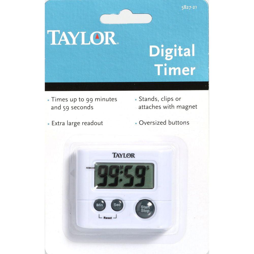 Taylor Precision Products 5827-21 Digital Timer - Walmart.com