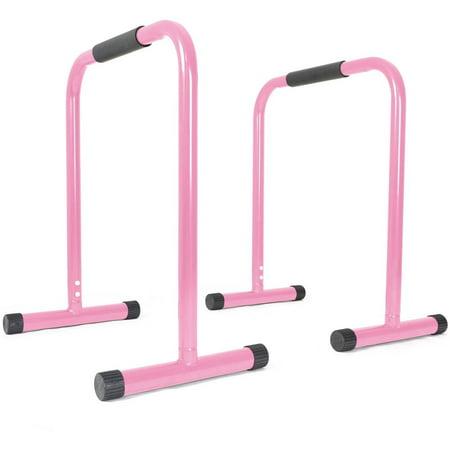 Titan Fitness Pink Dip Station Leg Raise Bars - Raven Teen Titans Go Legs