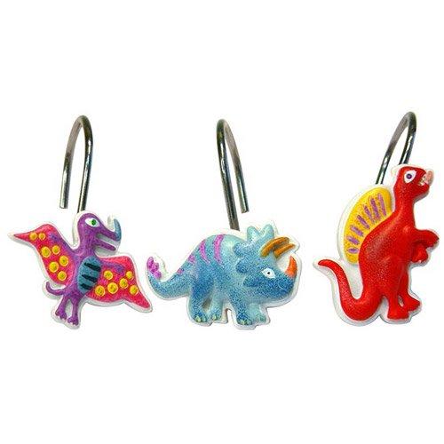 Dinosaur Friends Shower Curtain Hooks - Walmart.com