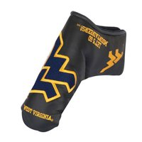 West Virginia Mountaineers Black Putter Blade Cover