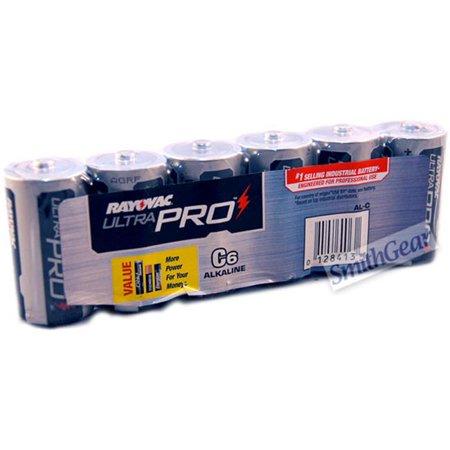 Spectrum Brands RAY-AL-C Alkaline 6 Pack C Batteries - image 1 of 1