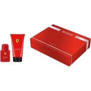 Ferrari Red by Ferrari for Men - 2 Pc Gift Set  Eau De Toilette and hair and Body Wash