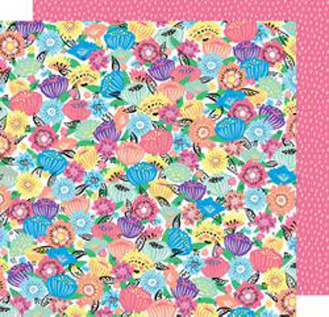 """Flower Power - Amy Tan Sunshine & Good Times Double-Sided Cardstock 12""""X12"""""""